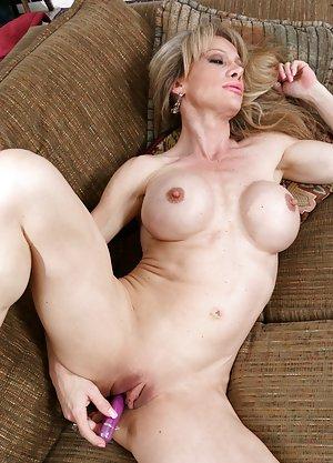 Hot mature nude sunbathing