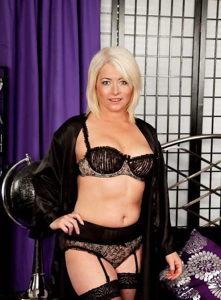 Blonde milf amber stockings question Certainly