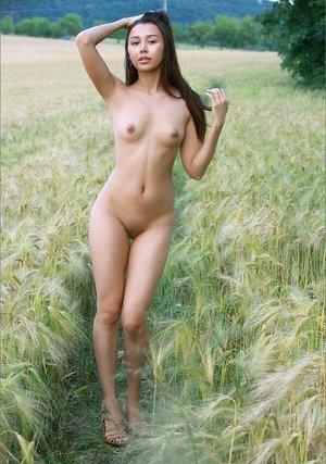Nude french girl bush